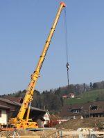 Trafostation Hofacher im Bau